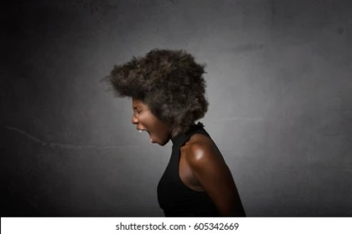 Screaming Black Girl Images, Stock Photos & Vectors | Shutterstock