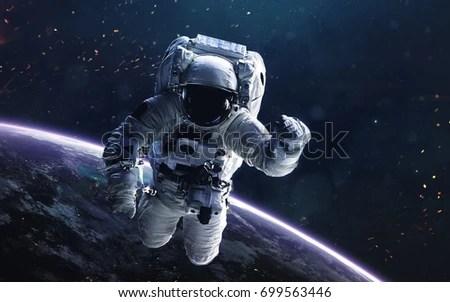 Photo de stock de Astronaut Deep Space Image Science ...