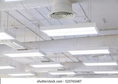 https www shutterstock com image photo beautifully lights ventilation system modern building 523765687