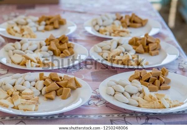 https www shutterstock com image photo cold snacks kazakh cuisine on white 1250248006