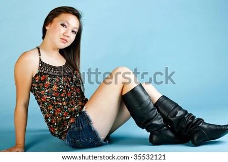 Cute Asian Teen Girl