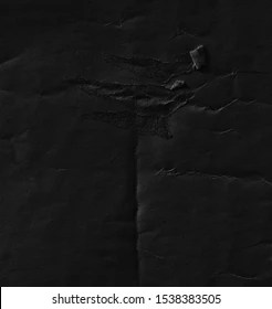 https www shutterstock com image photo dark black paper background creased crumpled 1538383505