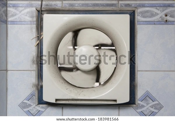 https www shutterstock com image photo dirty oil stained kitchen exhaust fan 183981566