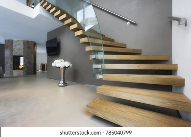 Stairs Interior Images Stock Photos Vectors Shutterstock | Home Interior Stairs Design | Wall | L Shaped | Elegant | American | Creative
