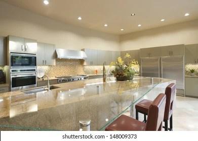 https www shutterstock com image photo glass topped breakfast table modern kitchen 148009373