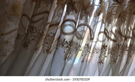 https www shutterstock com image photo golden floral embroidery on material organza 1930783109