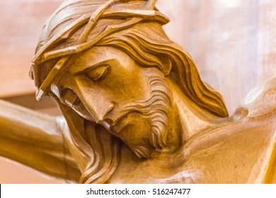 Head Crowned Thorns Crucifixion Jesus Christ Stock Photo  Royalty     Head crowned with thorns in the Crucifixion of Jesus Christ