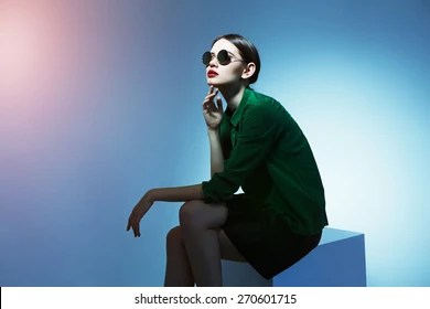 High fashion Images  Stock Photos   Vectors   Shutterstock high fashion portrait of young elegant woman  Studio shot