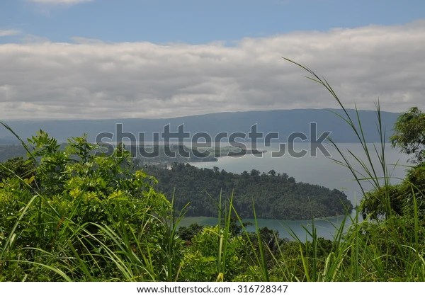 Lake Poso Indonesia On Island Sulawesi Stock Photo Edit Now 316728347