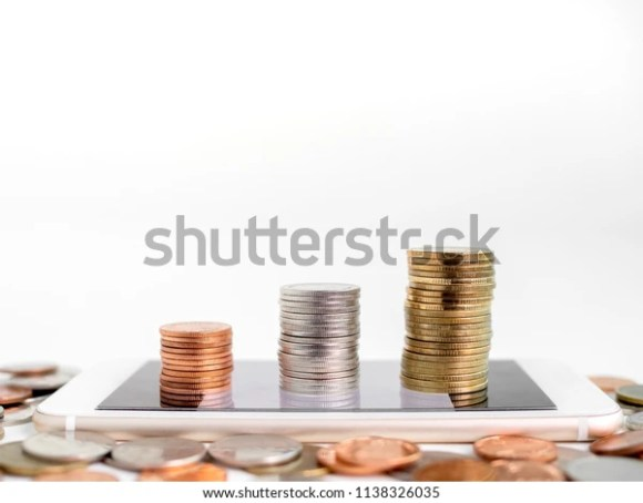 Making Money Online Business Financial Online Stock Photo (Edit ...
