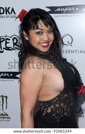 Mika Tan At The Super Los Angeles Premiere Egyptian Theater Hollywood