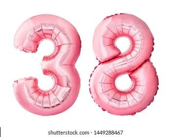 number 38 # 14