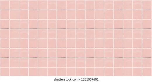https www shutterstock com image photo pink ceramic square mosaic tiles texture 1281057601