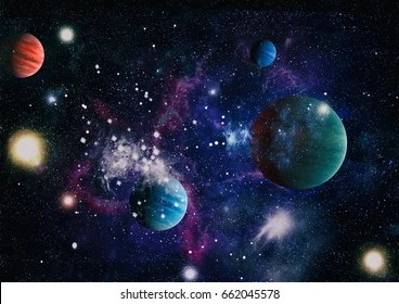 Galaxy Planets Images, Stock Photos & Vectors | Shutterstock