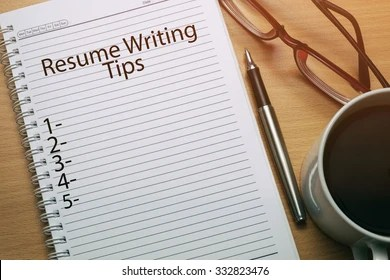 Resume Writing Images  Stock Photos   Vectors   Shutterstock Resume Writing Tips written on notebook   business conceptual
