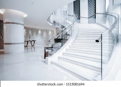 Luxury Staircase Images Stock Photos Vectors Shutterstock | Designer Stairs For Houses | Cool | Contemporary | Fancy | Residential | Interior