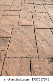 https www shutterstock com image photo stamped concrete pavement slate stone tile 1757537573
