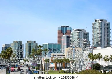 Depending on the location in kentucky, one of the closest beaches is myrtle beach, sc. City Of Long Beach California High Res Stock Images Shutterstock