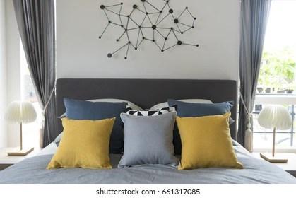 Blue Yellow Bedroom Images Stock Photos Vectors Shutterstock