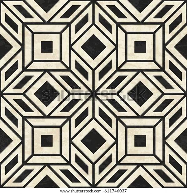 https www shutterstock com fr image vector antique marbled floor tiles abstract geometric 611746037
