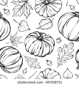 Coloring Page Fall Leaves Images Stock Photos Vectors Shutterstock