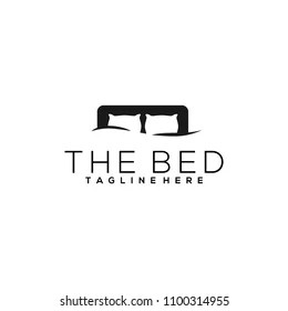 https www shutterstock com image vector bed logo design 1100314955