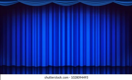https www shutterstock com image vector blue curtain stage vector theater opera 1028094493