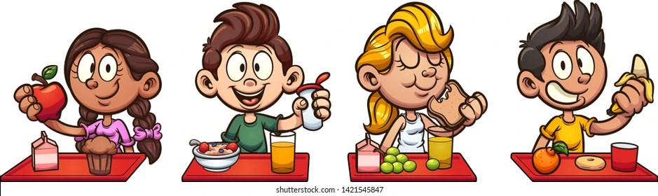 Eat Breakfast Clip Art Images Stock Photos Vectors Shutterstock