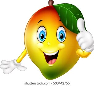 Mango Cartoon Images Stock Photos Amp Vectors Shutterstock