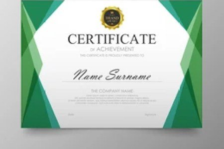Certificate Images  Stock Photos   Vectors   Shutterstock Certificate template awards diploma background vector modern value design  and luxurious elegant Illustration layout cover