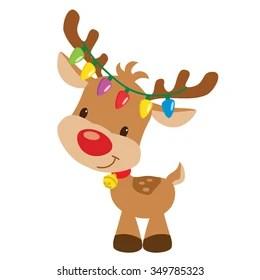 Cartoon Reindeer Images Stock Photos Amp Vectors Shutterstock