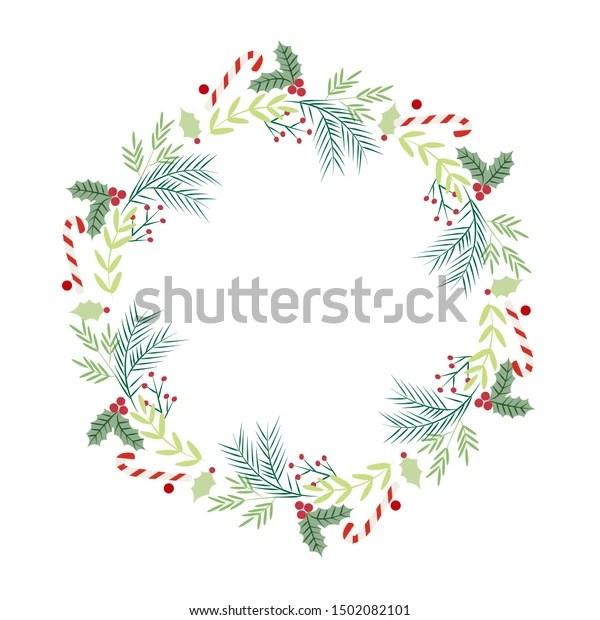 wreath template # 60