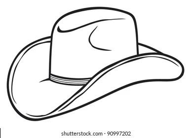 cowboy hat pattern # 84