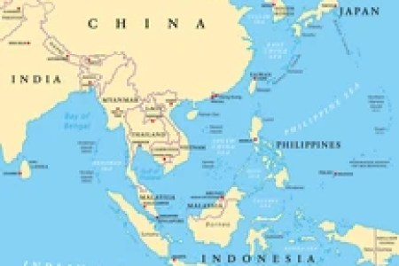 asia political map with capitals » Full HD MAPS Locations - Another ...