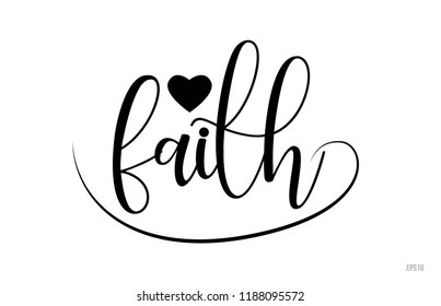 Download Faith Word Images, Stock Photos & Vectors | Shutterstock