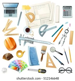 Architect Tools Images Stock Photos Vectors Shutterstock