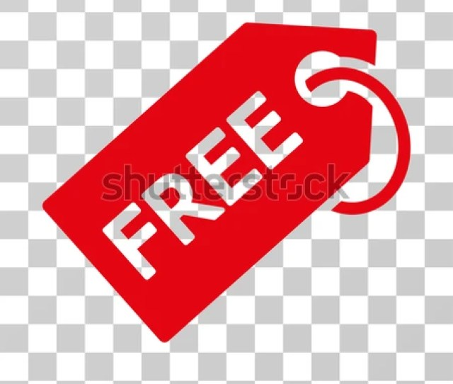 Free Tag Icon Vector Illustration Style Is Flat Iconic Symbol Red Color Transparent