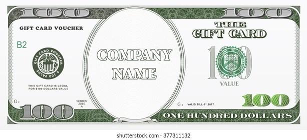 1000 Dollar Bill Template