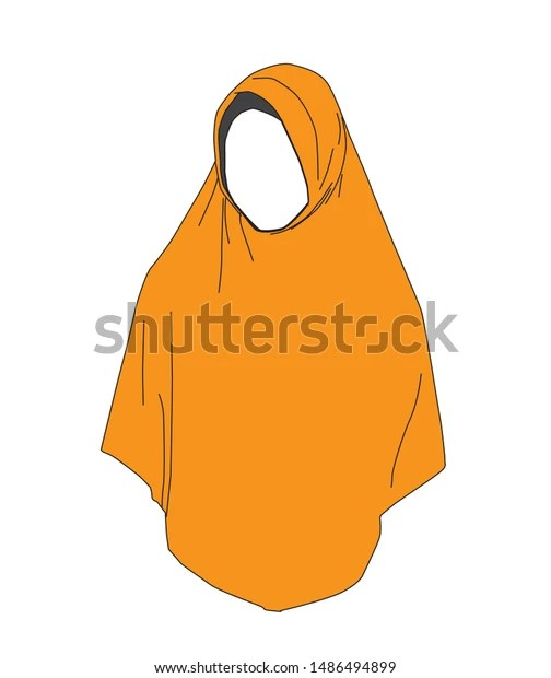 6 free vector banner background. Hijab Woman Vector Illustration White Background Stock Vector Royalty Free 1486494899