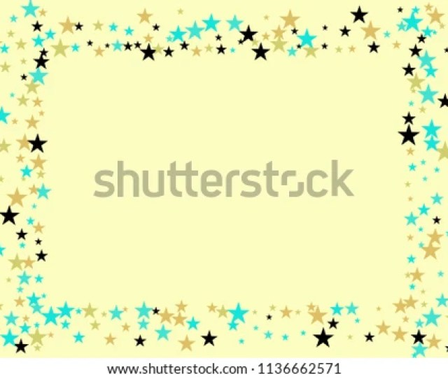 Hologram Stars Confetti Vector Magic Cosmic Garland Magic Christmas Lights Gamour Sparkles Glitter