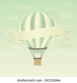 https www shutterstock com image vector hot air balloons sky vector illustration 241523446