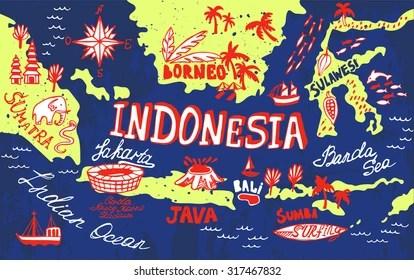 Halo teman, pada kesempatan kali ini kami akan membagikan informasi bermanfaat tentang animasi peta indonesia bergerak. Indonesia Maps Cartoon Images Stock Photos Vectors Shutterstock