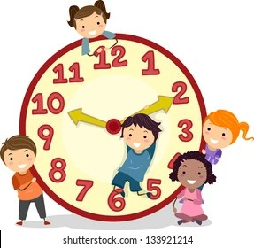 Cartoon Clock Images, Stock Photos & Vectors | Shutterstock