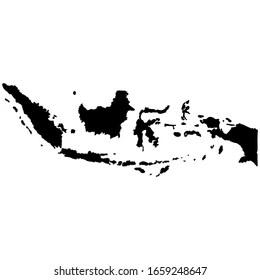 Ukuran peta di indonesia biasanya dinyatakan dalam. Peta Indonesia Gambar Foto Vektor Stok Shutterstock