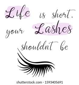 https www shutterstock com image vector lettering vector illustration beauty salon fashion 1593405691