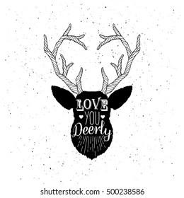 Download Deer Head Silhouette Images, Stock Photos & Vectors ...