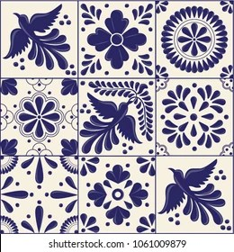 mexican traditional talavera style