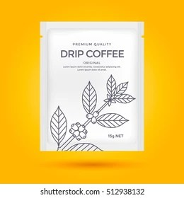 Coffee bag mockup | 30+ best coffee bag psd mockup templates free & premium: Coffee Drip Bag High Res Stock Images Shutterstock