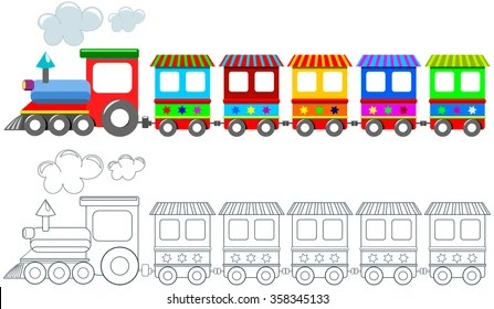 train coloring pages printable # 73
