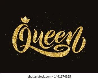 Words Queen Images, Stock Photos & Vectors   Shutterstock